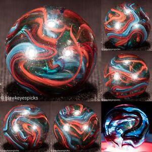 STUNNING Jabo Joker ULTRA OXBLOOD Swirl Marble 3/4 mint hawkeyespicks