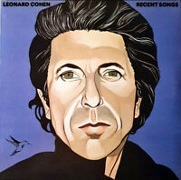 Leonard Cohen ‎– Recent Songs  1890g Vinyl LP  New Sealed