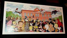 Vittorio Giardino poster 67x32 non firmato Jonas Fink fumetti