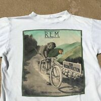 Vtg 80s R.E.M. Rare T Shirt 1985 Concert Tour Fables Of Reconstruction III 3 REM