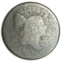 1795 Liberty Cap Flowing Hair Half Cent Copper 1/2C - Rare Early Coin!