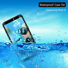 For Samsung Galaxy Note8 Waterproof Phone Case With Screen Protector And Bracket