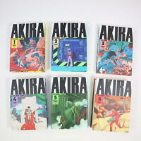 Akira 35th Anniversary Book Set 1-6 by Katsuhiro Otomo - Hardcover