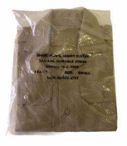 New Vintage U.S.Army Utility Shirt Uniform Durable Press Size Small