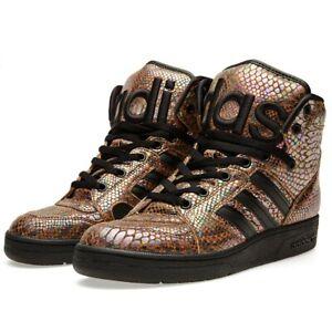 Adidas Originals Jeremy Scott Instinct Hi Rainbow / Größe UK 10