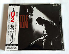 U2 Rattle And Hum JAPAN EARLY PRESS CD 1989 P24D-10054 w/OBI Bono The Edge