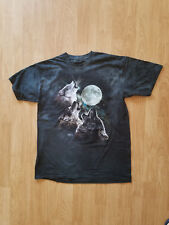 The Mountain Men's Graphic Tee Three Wolf T-shirt Size L