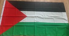 "Palestine Flag - Large 5 x 3 ""- New & Sealed - Free Gaza Palestinian Freedom"