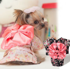 Kimono Floral Bowknot Pet Cloth Cosplay Funny Cool Halloween Dog Cat Cloth