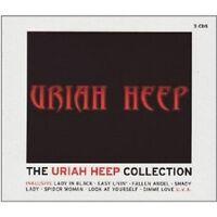 """URIAH HEEP """"THE URIAH HEEP COLLECTION"""" 3 CD NEU"""