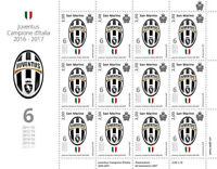 Foglietto Juventus Campione d'Italia 2016-2017