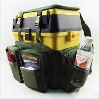 CARP SEA FISHING HARNESS RUCKSACK CONVERTER FOR ALL SEAT BOX TACKLE BOXES Green