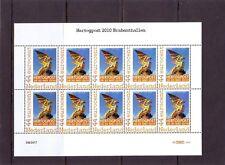 Nederland NVPH 2562 C11 Vel Pers. zegels Hertogpost 2010 Postfris