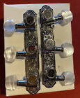 Schaller 542 M Germany Guitar Tuning Pegs Chrome Silver Machine Heads  NEW for sale