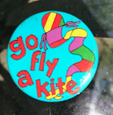 Go Fly a Kite Button