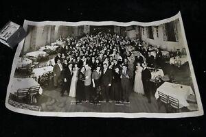 1946 Photograph Italian South End Social Club Hartford CtAnnual Dance Hotel Bond