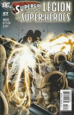 DC Supergirl and the Legion of Superheroes comic issue 27