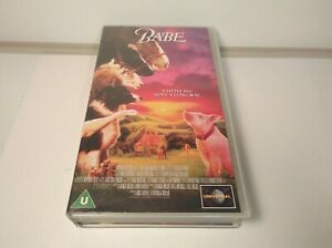 BABE PIG VHS TAPE VINTAGE COLLECTIBLE UNIVERSAL  VHS 1995. QUICK DISPATCH