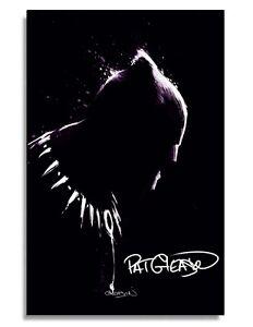 Black Panther #25  Patrick Gleason Fine Art SIGNED Virgin VARIANT COA PRESALE