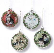 Kittens Ball Ornaments
