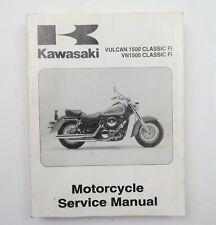 Kawasaki Vulcan1500 VN1500 Classic Fi 2000 Factory Motorcycle Service Manual
