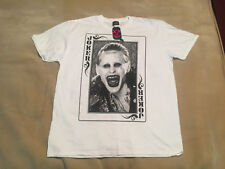 Suicide Squad joker playing card T Shirt environ Leto size XXL Brand new with tags