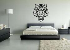 Wall Sticker Mural Decal Vinyl Decor Tiger Head Drawing Tiger Face