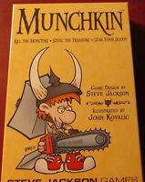 Munchkin SJG1408 Original Dungeon Adventure Card Game Steve Jackson Games NIB