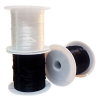 2 Rolls Elastic Stretchy Beading Thread Cord String Jewelry Fishing Line Making