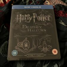 Harry Potter and the Deathly Hallows Part 1 Blu-Ray Steelbook NEW