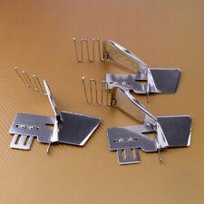 """3pcs Sewing Machine Double Fold Binder Stitch Flat Fold Edge 1/2"""" 3/4"""" 2"""""""