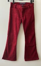 Abercrombie 8 Girls Cotton Corduroy Red Flare Pants