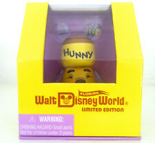 "DISNEY VINYLMATION 3"" WINNIE THE POOH HUNNY POT HONEY WDW FLORIDA PROJECT TOY"