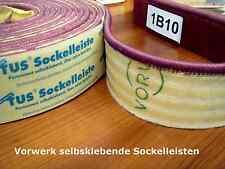 Fussleisten gekettelt, permanent selbstklebend aus Ihren Teppichreste 7 cm hoch