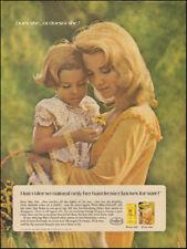 1969 Vintage ad for Miss Clairol Hair color bath retro fashion photo    (111517)