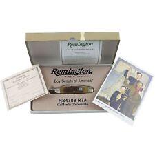 Remington 2012 Boy Scout Pocket Knife 3 Folding Blades Utility