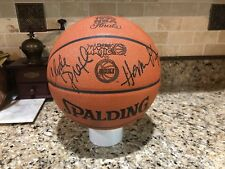 Official Spalding Houston Rockets 1995 NBA Finals Game Ball Leather Basketball