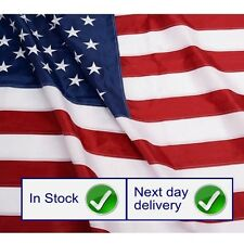 3x5 American Flag Made In Usa Stars Embroidered Sewn Grommets Nylon Stripes USA