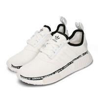 adidas Originals NMD_R1 White Black Women Lifestyle Casual Shoes BOOST FV7306