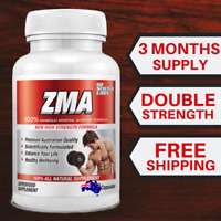 ZMA 3 Months - Zinc - Magnesium Vitamin B6  Testosterone Booster  QTY Discounts