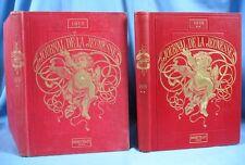 """2 Reliures """"Le JOURNAL de la JEUNESSE"""" / 2è Semestre des Années 1909 et 1913"""