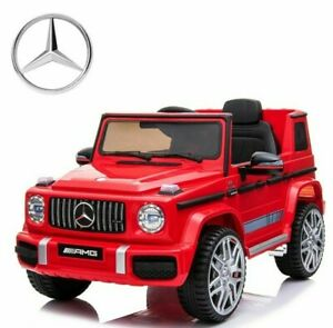 Mercedes Benz AMG G63 G Wagon Ride on Car/Jeep. Top Spec with Leather Seats