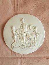 Cherub playing scene Grand Tour Cameo Intaglio Medallion Seal Plaster Tassie new