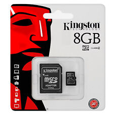 Kingston 8GB Micro SD HC Memory Card For TomTom Via 135 SAT NAV