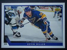 NHL 408 Kevin Miller St. Louis Blues Upper Deck 1993/94