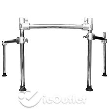 ROLAND V DRUM CHROME SILVER MDS-25 RACK MOUNT STAND TD 30K MDS 50 30 20 12 12V