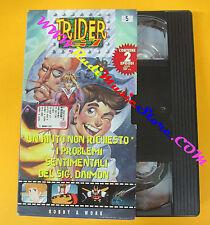 VHS film TRIDER G7 Un aiuto non richiesto I problemi animazione 5 (F38) no dvd