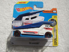 HOT WHEELS 2018 EXPERIMOTORS 6/10 THE EMBOSSER ON RARE EURO SHORT CARD #339/365