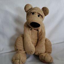 Vintage Manhattan Toy Stuffed Plush Ragalangs Teddy Bear Linus Beanbag Dog