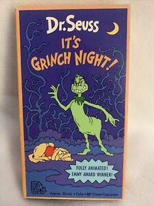Dr. Seuss - Its Grinch Night! (VHS 1977/1992)